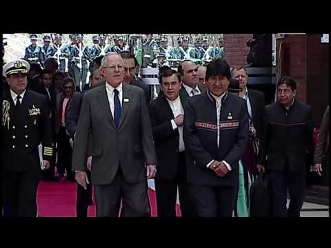 Viaje Presidencial a Sucre - Bolivia