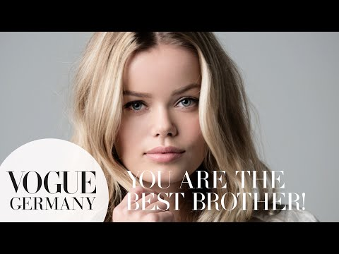 You're the best brother – A Message for you by Frida Aasen for VOGUE