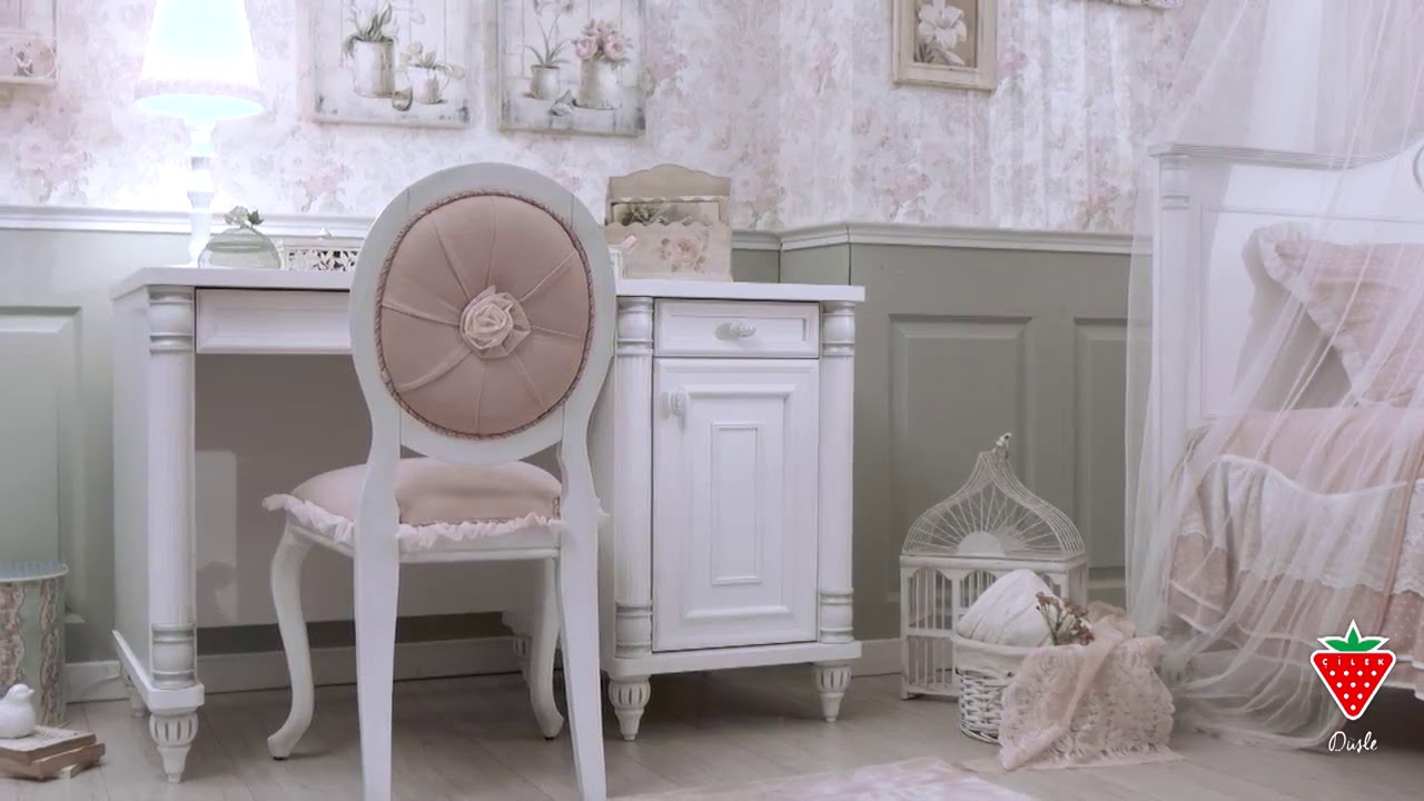 377895f198 Zrkadlo na komodu Romantic - Hezký detský nábytok