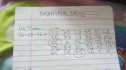 MANIPUR DAY SINGAL OPEN 0 PASS JODI RUNING