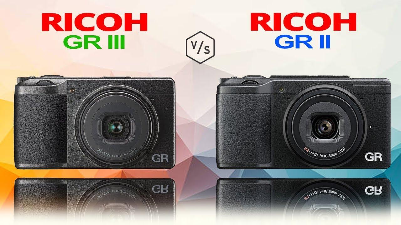 RICOH GR III vs RICOH GR II