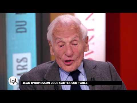 Jeudi 6 octobre 2016 - INTEGRALE - Jean d'Ormesson + Léa Drucker, Clotilde Courau, Renaud Capuçon...