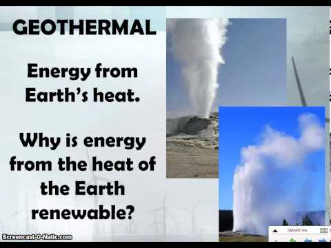 energy comes from the earth 4 Learning about renewable energy  most renewable energy comes  it's the most abundant element on the earth because energy is always needed to.