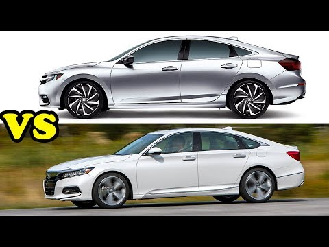 Honda Insight Prototype Vs Accord 2018