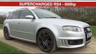 Supercharged Audi RS4 B7 Review - 600HP