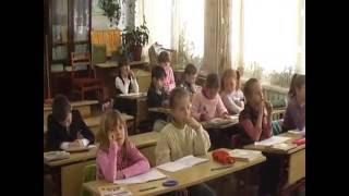 Фрагменты урока русского языка во 2-ом классе (по системе р/о Эльконина-Давыдова).