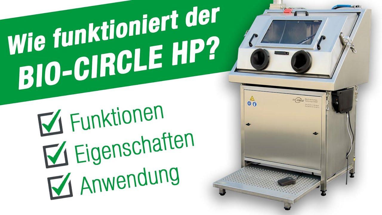 Hochdruck Teilewaschgeräte & Teilereiniger Bio-Circle HP, HP