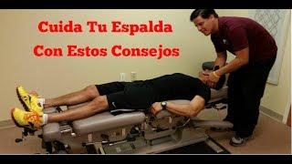 Consejos para cuidar la espalda - SaludActivaTV