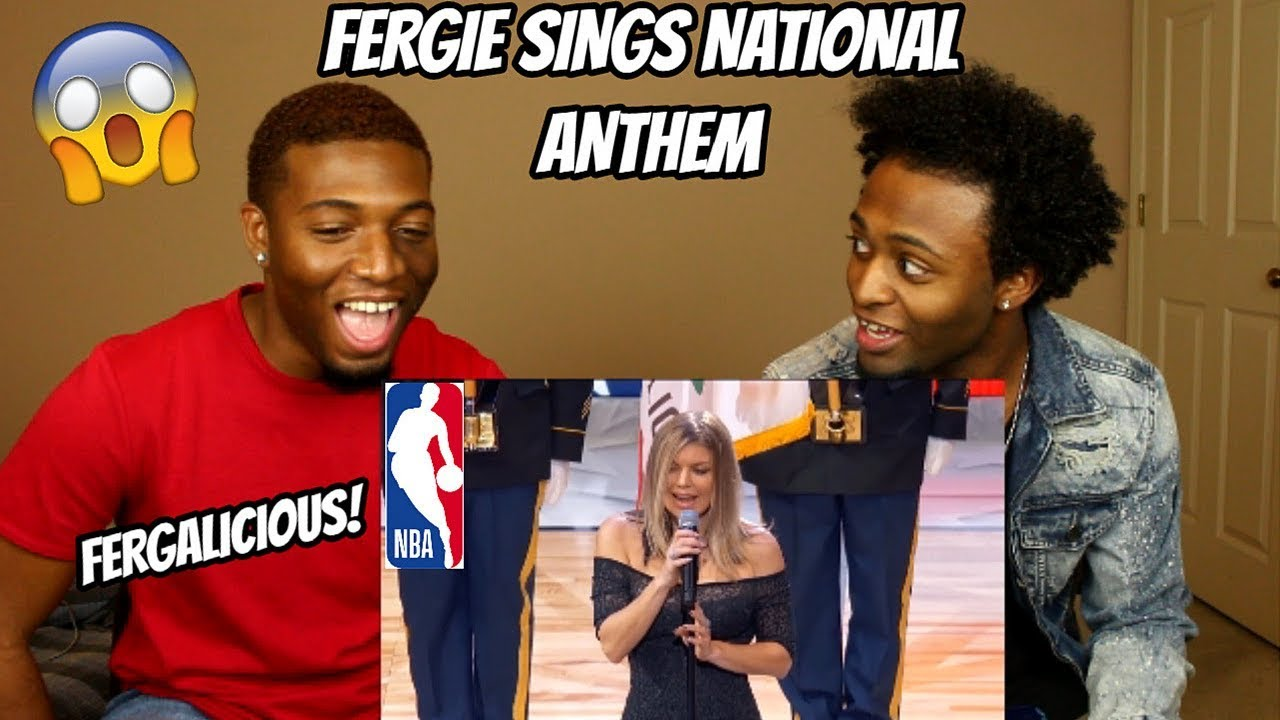 See Fergie's national anthem performance at the NBA All ...