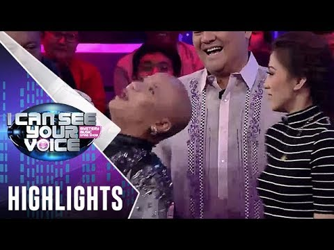 I Can See Your Voice PH: Alex, hindi napigilan tanggalan ng wig si Wacky