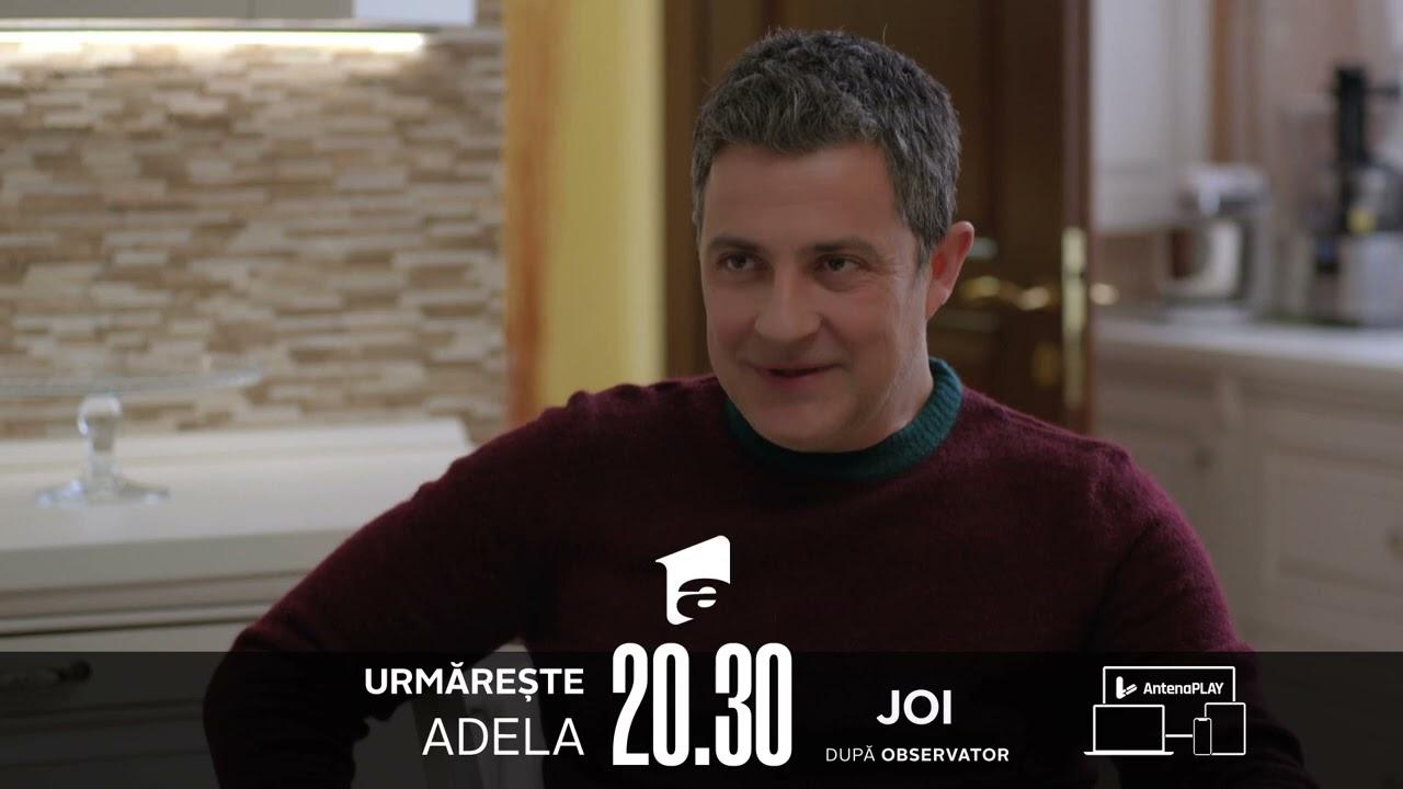 Adevărata fața a omului mereu va ieși la iveală! Nu rata un nou episod din Adela, JOI, la 20:30! 💙