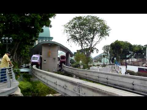 Monorail to Sentosa.wmv