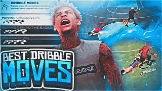 the *NEW* BEST GLITCHY DRIBBLE MOVES ON NBA 2K19! DRIBBLE GOD SECRET COMBOS! HOW TO ISO LIKE STEEZO