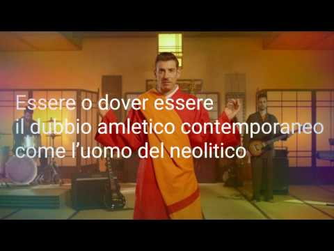 Francesco Gabbani-Occidentali's karma-Testo(lyrics)
