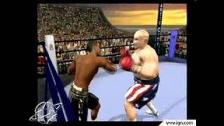 Knockout Kings 2002 PlayStation 2 Gameplay