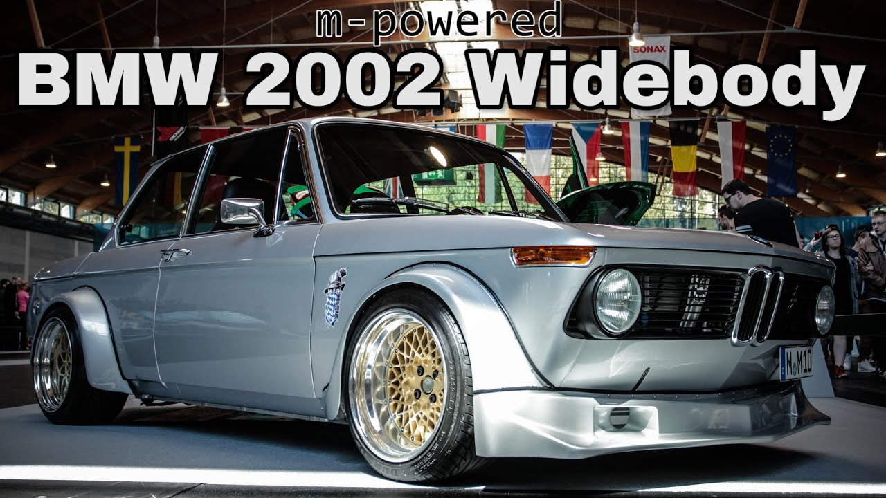 m powered bmw 2002 widebody shorts youtube. Black Bedroom Furniture Sets. Home Design Ideas