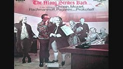 Hans Wurman - The Moog Strikes Bach [Original German Stereo LP] (1969)