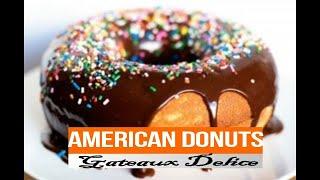Recette de Donuts Américains وصفة الدوناتس الامريكية