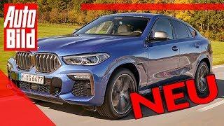 BMW X6 (2019): Neuvorstellung - Review - SUV - Motor - Infos