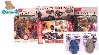 Halo Mega Bloks Blue and Grey ODST Drop Pods, Blind Bags Игрушки и Игры для Мальчиков  Трансформеры(, 2016-02-06T00:37:22.000Z)