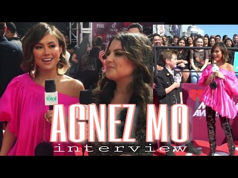 AGNEZ MO Interview On The Red Carpet IHeart Radio Music Award 2019