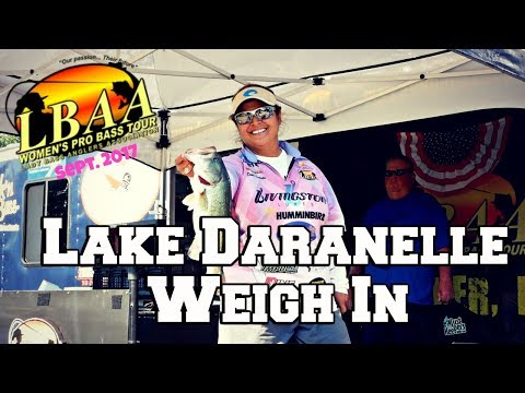 LBAA Lake Dardanelle Weigh In September 2017
