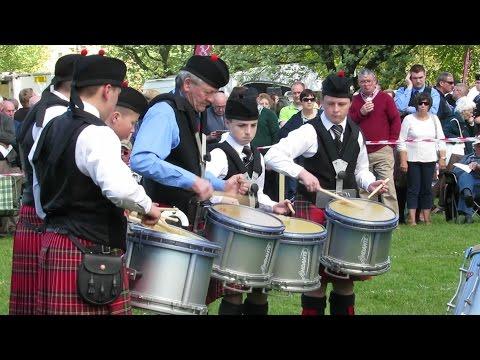 Gransha Pipe Band @ Bangor 2016