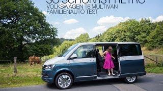 Volkswagen T6 Multivan Generation SIX Familienauto Test