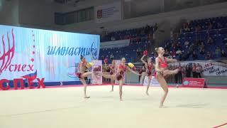 Сборная команда московской области МС с мячами