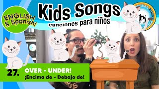 Songs For Kids Music Class with Alina Celeste and Mi Amigo Hamlet - Spanish and English - Bilingual!