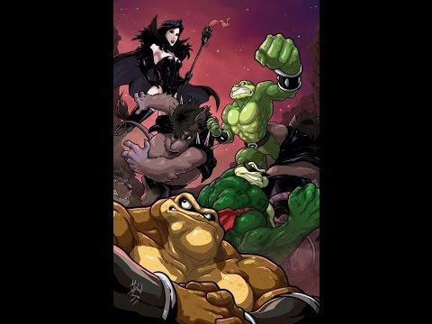Боевые жабы мультфильм все серии