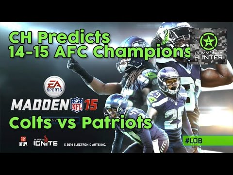 14-15 AFC Championship - Colts-Patriots - CH Predicts