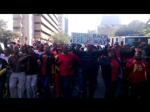 COSATU March against etolls