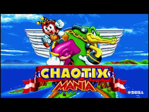 Chaotix in Sonic Mania Plus Wip |