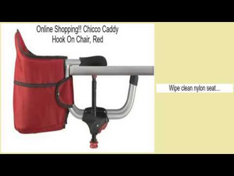 Chicco Caddy Hook On Chair, Red Review