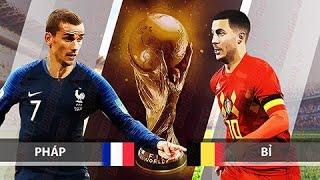 Xem lại trận đấu Pháp vs Bỉ || Bán Kết FIFA World Cup 2018
