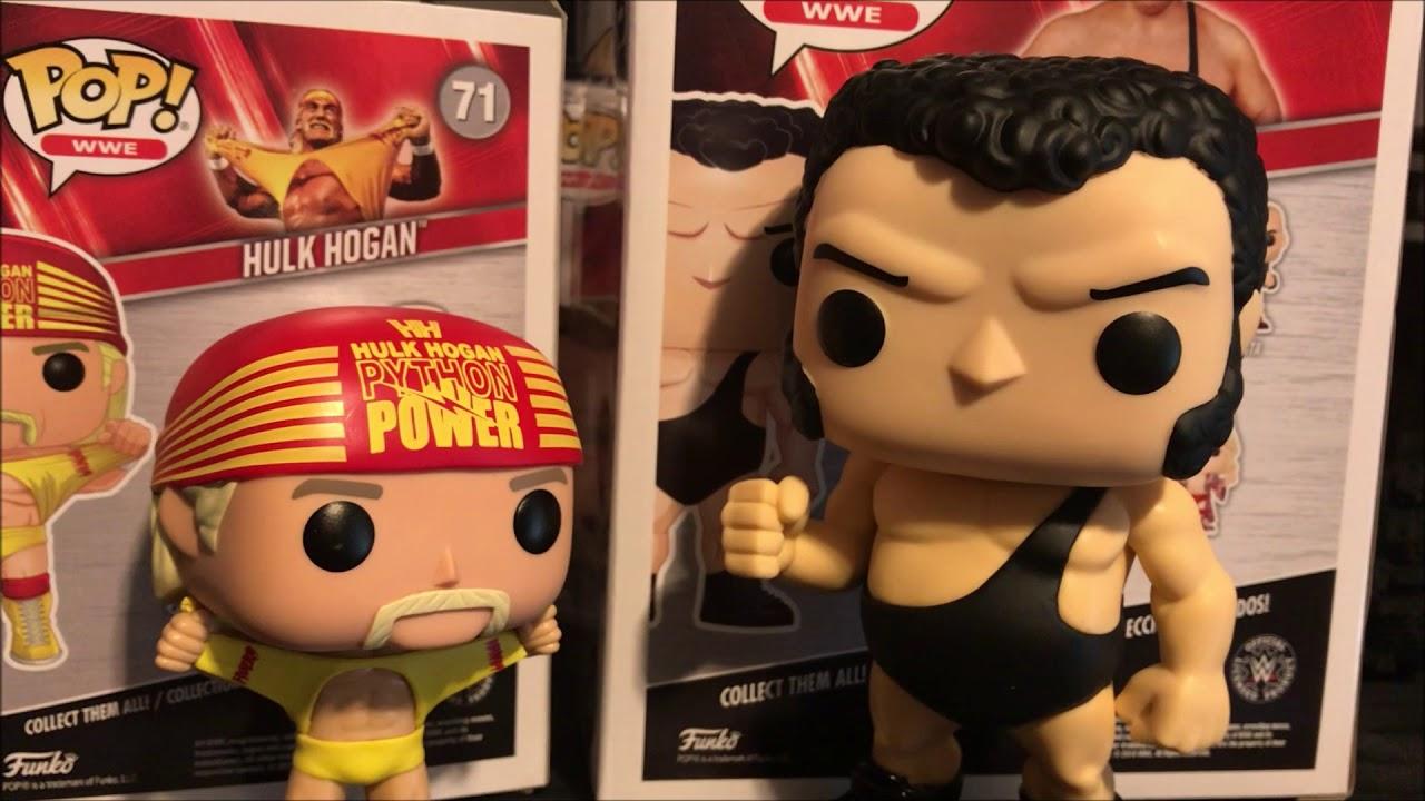 Hulk Hogan Vs Andre The Giant WWE Wrestlemania 3 Funko Pop Walmart Exclusive Unboxing