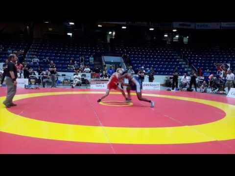 2016 Canada Cup: 65 kg Jason Buckle (CAN) vs. Dillon Williams (CAN)
