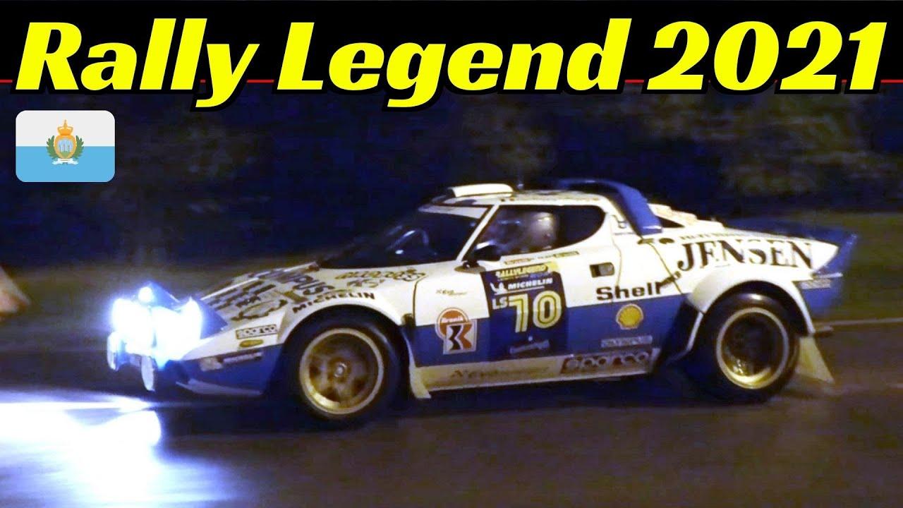 Rally Legend 2021 San Marino - Day 1 - Friday Night/Venerdì Notte - P.S. San Marino - Rain & Flames!