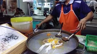 Уличная еда в Тайланде. ПАД ТАЙ с креветками, процесс приготовления