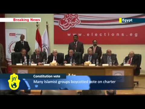 Egyptian Constitution Referendum Landslide: Officials report 98.1% voted in favour of new charter