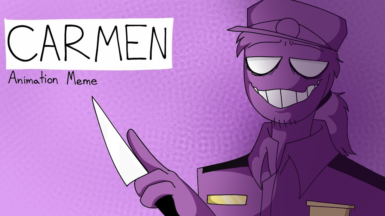 Download Carmen   Animation Meme   FNAF Purple Guy   Flipaclip