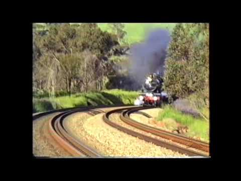 Flying Scotsman And Pendennis Castle In Western Australia 1989