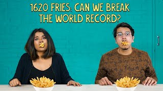 1620 Fries: Can We Break The World Record? | Ok Tested