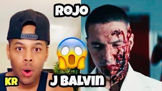 J. Balvin - Rojo (Official Vídeo) REACTION