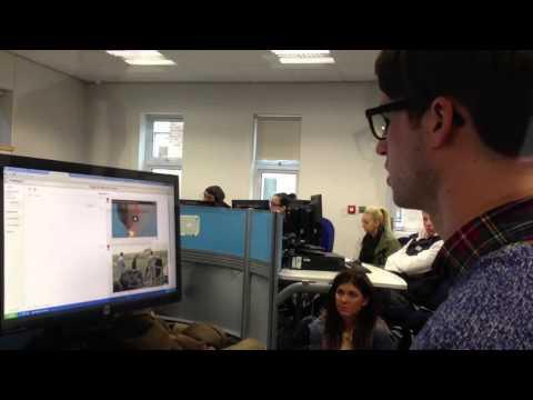 Joseph Stashko on live blogging