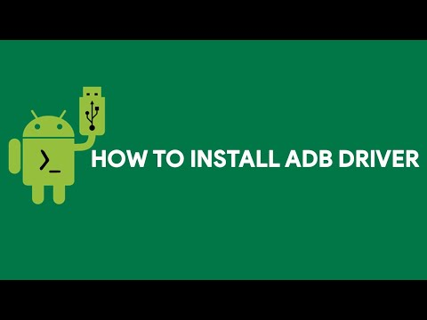 How To Install ADB Driver - [romshillzz]