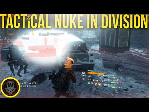 Jebaited & SERVER NUKE in Division! (The Division 1.8.1)
