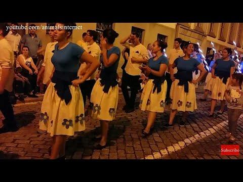 Marchas de Santo António. Vila Real, Portugal. 2017 Junho 12. FullHD 1080p