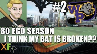 I Think My Bat is Broken??? Super Mega Baseball 2 80 Ego Season Wild Pigs Game 2